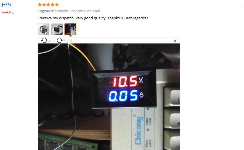 HTB1NGOsXQT2gK0jSZPcq6AKkpXaf DC 0-100V 10A 50A 100A Electronic Digital Voltmeter Ammeter 0.56'' LED Display Voltage Regulator Volt AMP Current Meter Tester