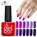 Saviland 1pcs Glitter Soak Off Purple Series Color Long-lasting Gel Nail Polish Semi Permanen Gel Lak Esmaltes Vernis