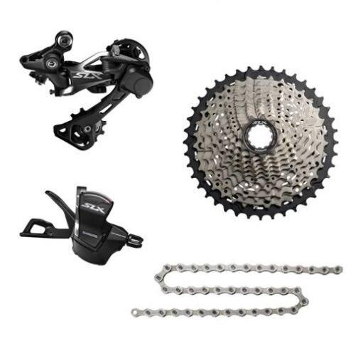 Shimano SLX M7000 Transmission kit de bicyclette de vélo vtt Groupe Groupset 11-vitesse 4 pièces Arrière dérailleur Shiffter 40 T 42 T 46 T Cassette