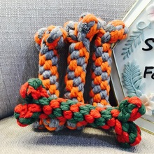 Dog Toys Funny Rope For Small Puppy Dogs Pet Chew Supplies Random Colors