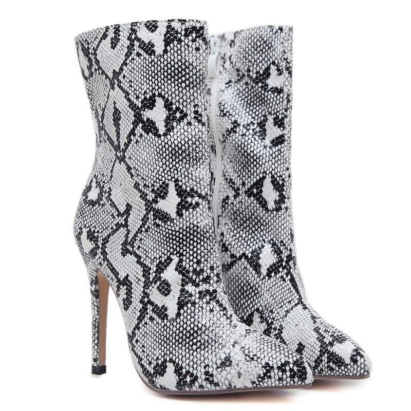 De Bottes Hiver Offre Bout Talons Haute Automne White Bal Nouvelle Pointu Asumer Super Mode Chaussures Dames Spéciale Zip Pour Cheville Femmes tQxsBorChd