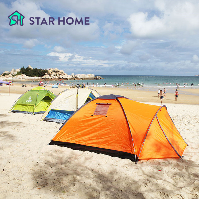 STAR HOME C&ing Tent For Winter Outdoor 3 Person Lightweight Tent Single Layer Waterproof Tent  sc 1 st  AliExpress.com & Aliexpress.com : Buy STAR HOME Camping Tent For Winter Outdoor 3 ...