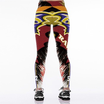 Unisex Football Team Ravens 52 Print Tight Pants Workout Gym Training Running Yoga Sport Fitness Exercise Leggings Dropshipping 1