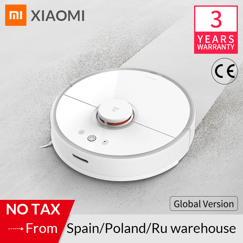 Roborock Vacuum Cleaner 2 S50 S55 for Xiaomi Mi Home MIJIA APP Smart Cleaning Dust Intelligent Sweeping&Wet Mopping Path Planned