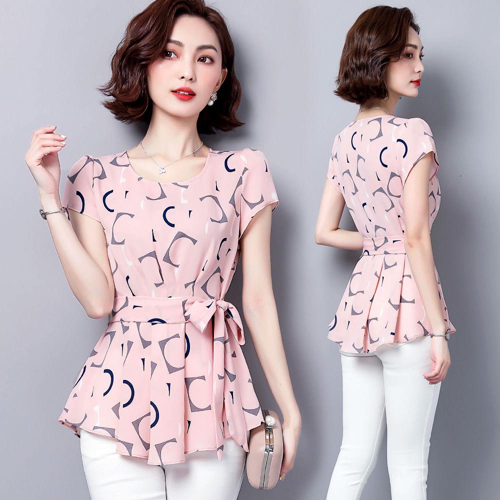 mulheres casual verao estilo chiffon blusas camisas 04