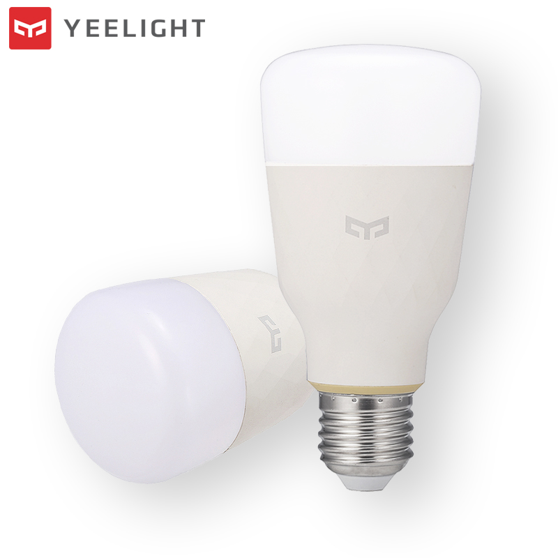 Original XIAOMI YEELIGHT 10W E27 LED Light WIFI Control Smart Light Bulb Warm White to Daywhite AC100-240V LED Buibs For Home