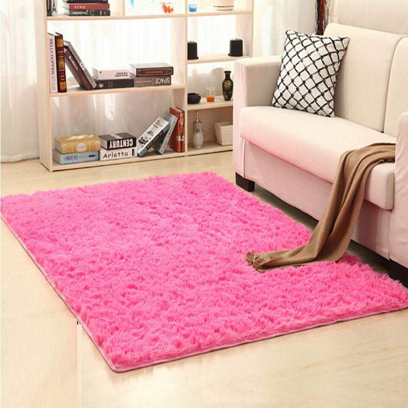 120cm X 160CM Hot Sale Fashion Plush Shaggy Soft Carpet For Living Room Bedroom Kid Climb Rug Delicate Modern Simple Home Floor