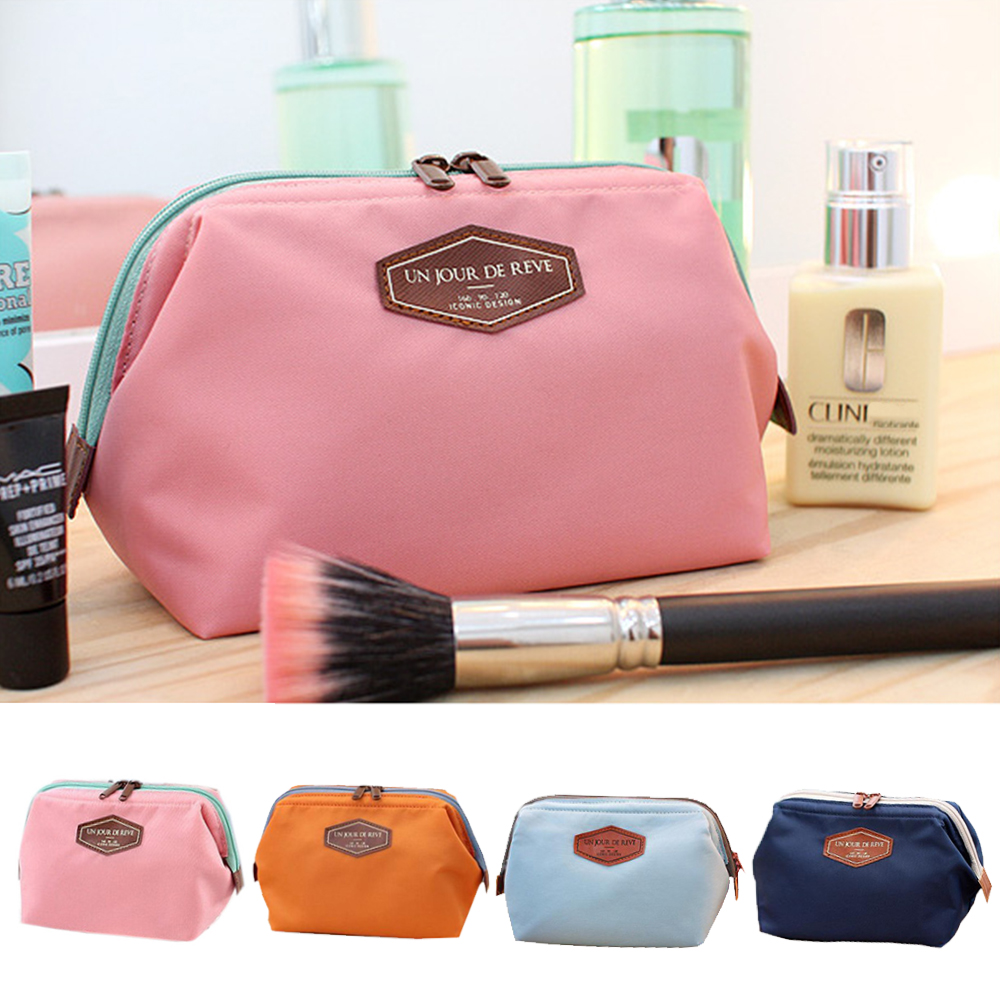 Cosmetic Bag Organizer Multi-Functional Portable Purse Box Travel Makeup Toiletry Case Storage Pouch Accessoires Tag Wash Pouch