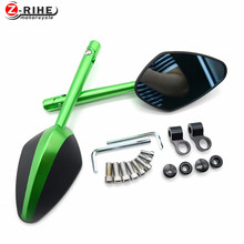 for Universal Motorcycle  Aluminium mirror motorbike Rearview side Mirror For BMW F800S F800ST F800GS F650GS F800R F800GT F700GS