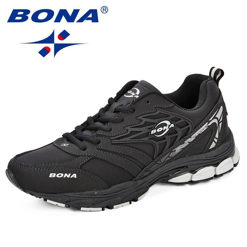 BONA Sneaker hommes 2018 nouveau Designer Atunmn respirant hommes chaussures confortable à la mode hommes chaussures pour adultes de mode hommes chaussures décontractées - 4