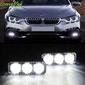 Carro à prova d' água 3 led de luzes diurnas DRL com sinal de volta auto lâmpada luz de nevoeiro Universal para bmw toyota Dodge ford vw kia