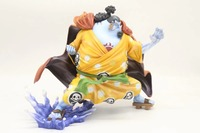 Anime One Piece, seven Wuhai, POP, super large, whale shark man, hand decoration.