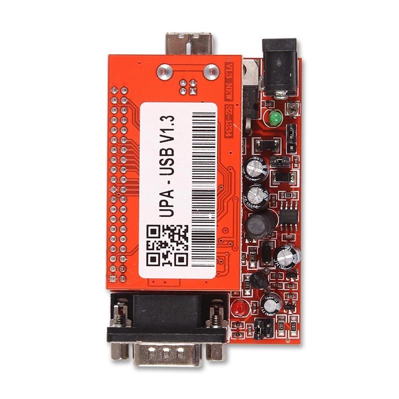 UPA USB Serial Programmer Full Package V1 3 Popular Eeprom Universal Chip  Programmer auto ECU Tool DHL Free Shipping