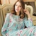 2016 Autumn Spring Casual Cotton Pijama Feminino Women Pajama Set Sleepwear Long Sleeve Two-Piece Nightgown Women Pyjamas Sets