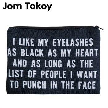 Jom Tokoy 3D bolsa neceser para cosméticos para mujer bolsa de maquillaje...