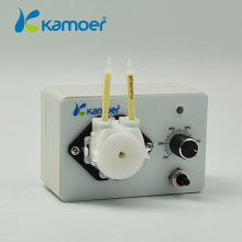 Micro peristaltic pump with adjustable flow rate Mini electic Water pump dosing pump 24V For Chemical Lab (L) Kamer KCP3