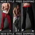Новая Мода мужская Повседневная Троса Брюки Летние брюки брюки Размер Sml XL XXL 1 ШТ. Розничные оптовая