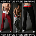 New Fashion Men's Casual Tether  Pants Summer slacks trousers Size S M L XL XXL 1 PC Retails wholesale