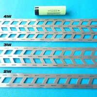 1KG pasek z czystego niklu na baterie litowe, 2W 3W 4W na akumulator 18650, rozstaw ogniw 18.5mm, szyna niklowa typu W.