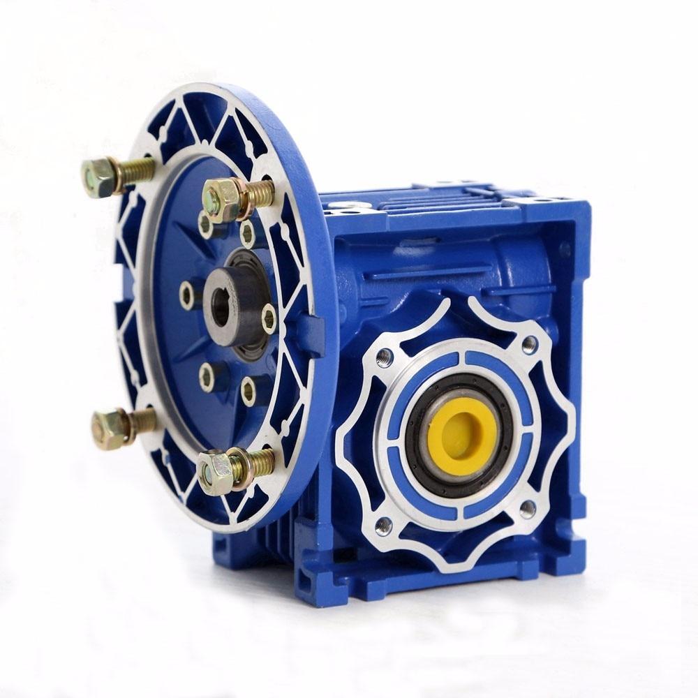 NMRV063 Worm Gear Riduttore 24mm 90B14 Rapporto 10 15 20 25 30 40 50 60 80 100: 1 per il Motore AsincronoNMRV063 Worm Gear Riduttore 24mm 90B14 Rapporto 10 15 20 25 30 40 50 60 80 100: 1 per il Motore Asincrono