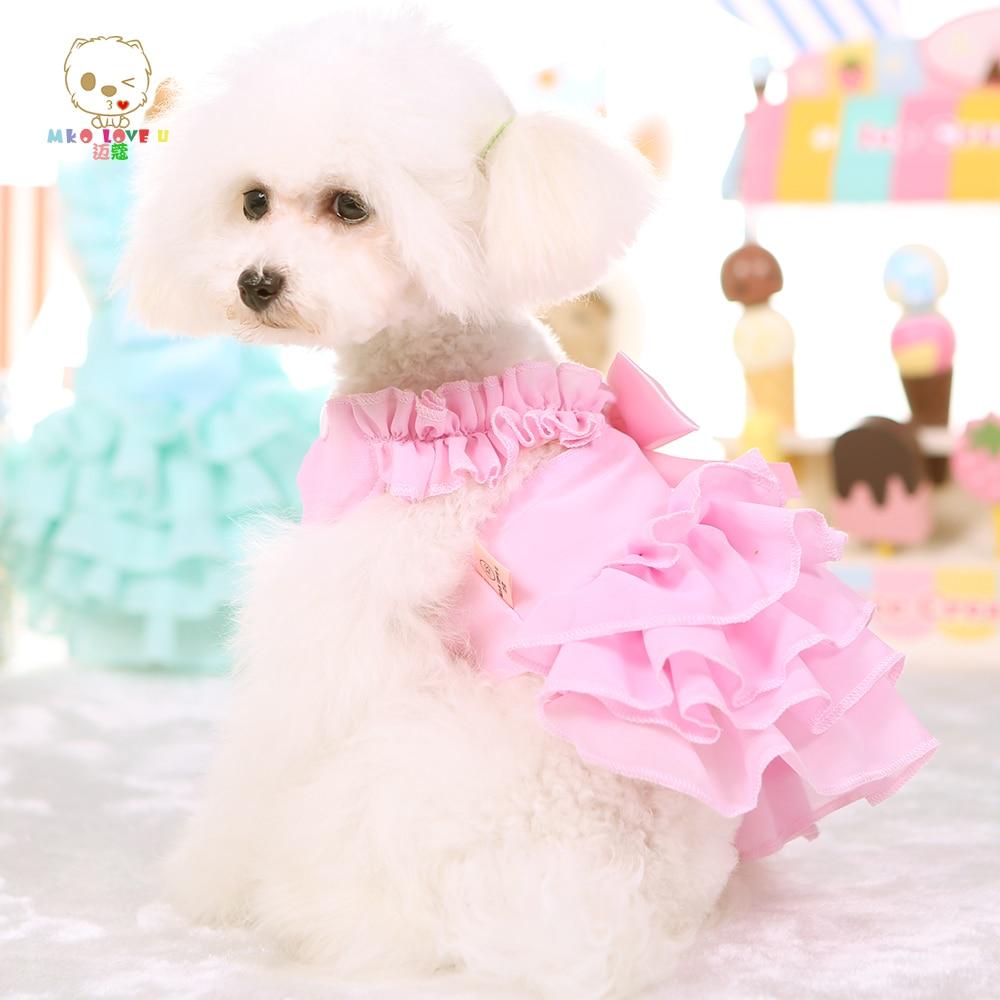 Pequeño Vestido de Boda Del Perro Del Animal Doméstico Ropa Para ...