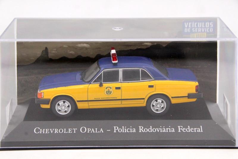 IXO Altaya 1:43 Scale Chevrolet Opala Policia Rodoviaria Federal Toys Car Diecast Models Limited Edition Collection cheverolet monza ixo chevrolet car 1 43 model