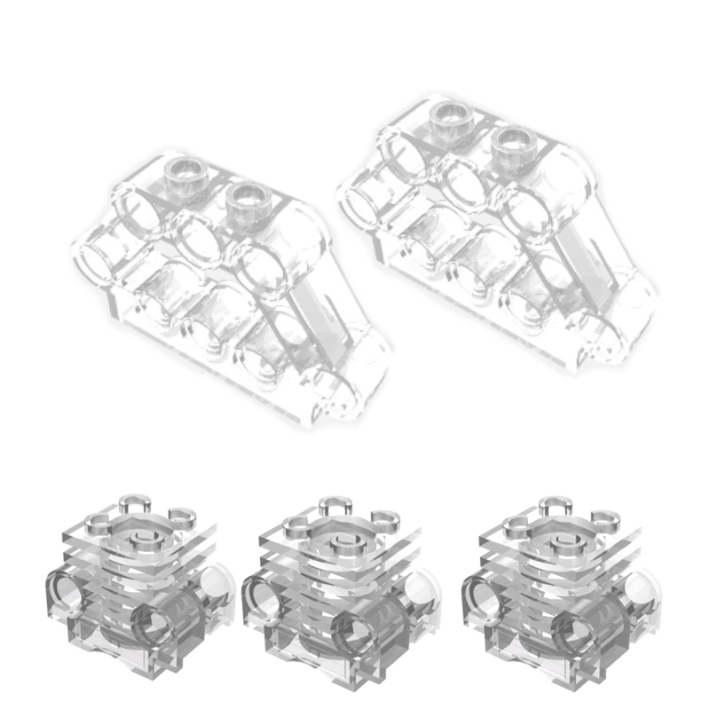 10Pcs-lot-TECHNIC-PARTS-2850-Technic-Engine-Cylinder-with-Side-Slots-32333-Pin-Cylinder-Connector-Block