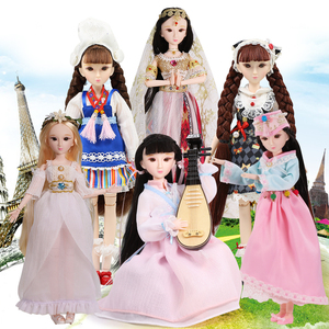 Image 3 - ICY DBS doll New xiaojing doll student series joint body bjd black hair including school uniform shoes 25cm