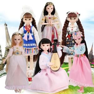 Image 3 - Poupée glacée DBS, xiaojing, poupée détudiant, corps commun bjd, cheveux noirs, chaussures duniforme scolaire, 25cm