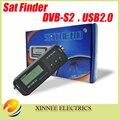 Digital de Bolsillo Pocket Buscador Sathero SH-100HD Señal Sáb Buscador de Satélite Digital Buscador de Medidor de Satélite HD DVB-S2 USB 2.0