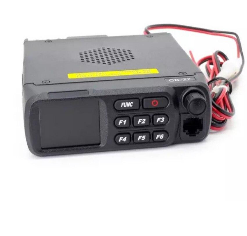 רשימת הקטגוריות QYT הנייד CB27 הרכב שני דרך רדיו משדר AM FM לרכב Mouted להקה אירופאי רדיו CB הנייד CB27 12V 24V 26.965-27.405MHz (2)