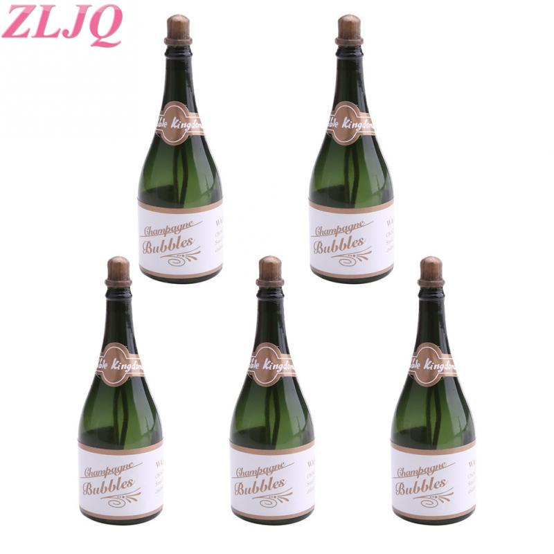 24pcs Mini Champagne Bubbles Bottle Wedding Party Favors Reception