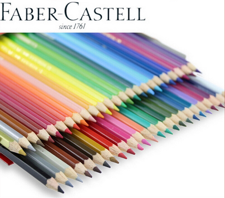 Faber-Castell 48 Color Water-Soluble Non-toxic Water Color Pencils Set School Supplies Stationery Rrt Drawing Supplies ASS021 аксессуар raylab iqlite rrt ft16