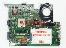 free shipping original N76VM N76VJ N76VZ N76VB motherboard N76VB MAIN BOARD GT740M 2G VGA video memory USB 3.0 100% Working Well