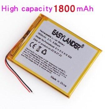 цена на 3.7V 1800mAh 4G-15 / 4K-19  li Polymer Battery For PocketBook 614 615 616 624 626 For Digma E628 R657 R659 Battery Touch Lux 3