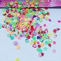 10 г фимо фрукты Ломтики Полимерная глина наклейки для ногтей мягкие керамические украшения ногтей, животные, сердце, слизи Diy Поставки - фото