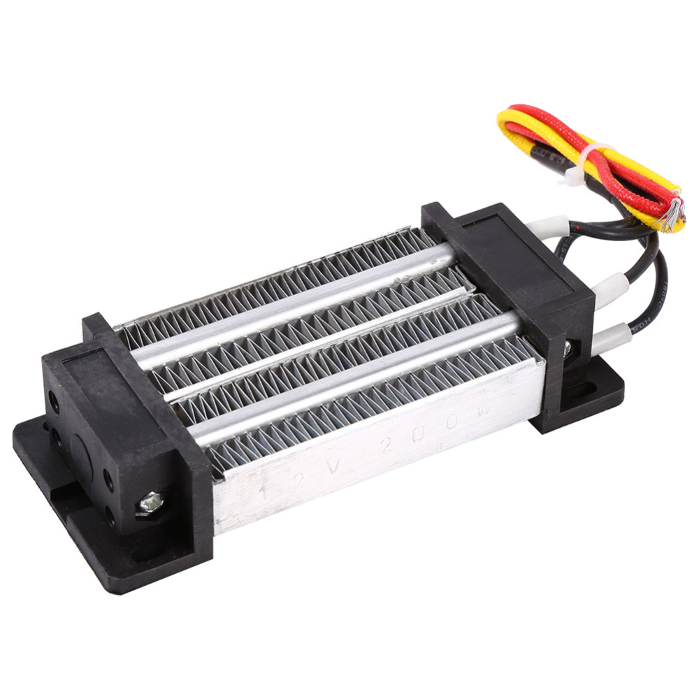 Portable 200W DC 12V Electric Insulated Ceramic Thermostatic High Power PTC Heating Element Heater Plate Heater Element