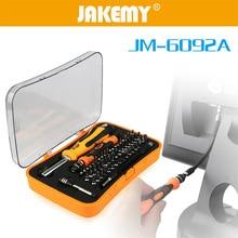 цена на JAKEMAY 57 in 1 Screwdriver Set Chrome Vanadium Steel Screwdrivers Combination Screw Driver Type Multifunction Hand Tool Set