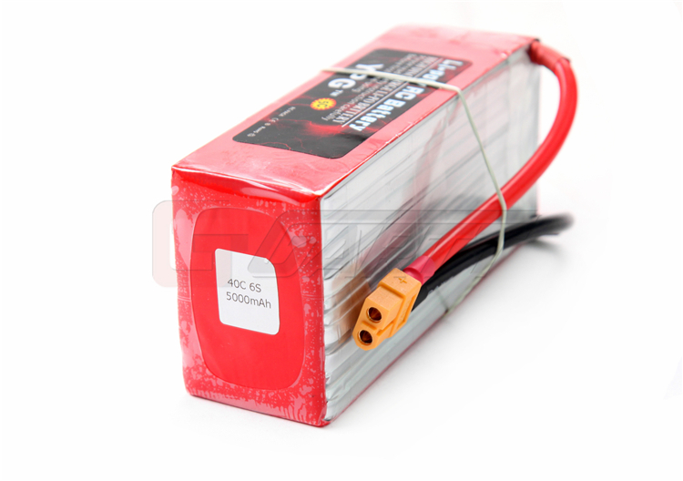 Lipo Battery Pack For Multi-Rotors / Trex 600-700 Helicopter / EDF Jets YPG 22.2V 5200mAH 40C 6S image