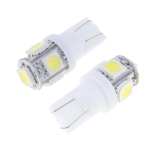 Image 4 - 20 unids/lote de luces LED para coche, luz de lectura Interior, súper brillante, para Auto, cuña lateral, matrícula, maletero, lámpara de equipaje, súper blanco