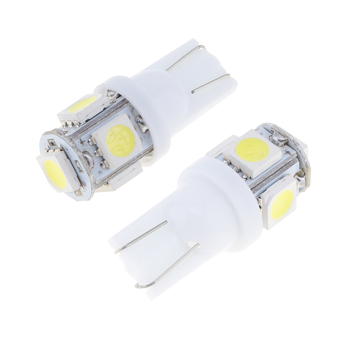 20x Car LED Signal Blub Interior Reading Light Super Bright Auto Wedge Side License Plate Trunk Luggage Lamp Super White in Car Headlight Bulbs LED from Automobiles Motorcycles