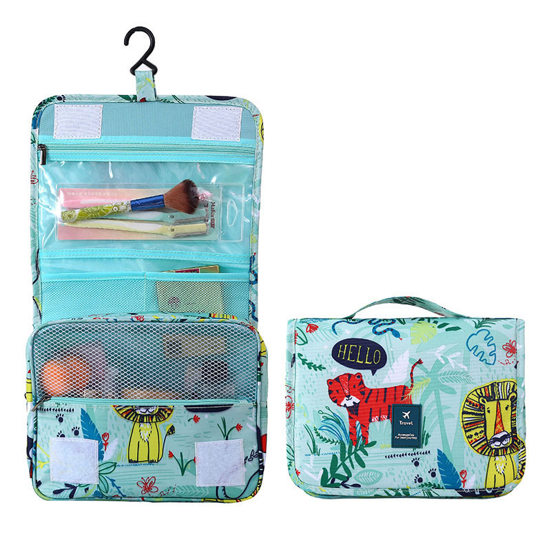 Women Men Travel Hanging Wash Bag Cosmetic Cases Make Up Pouch Beauty Vanity Necessarie Toiletry Makeup Storage Bag Organizer