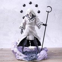 Naruto shippuden uchiha madara jinchuriki formulário ver. Figura de pvc brinquedo coleção modelo estátua