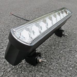 Image 4 - 16 lumières de barre de lumière Led de travail de pouce 80W pour des voitures de Lada Niva faisceaux dinondation 4x4 outre de lexcavatrice 12V 24V de camions de bateau de tracteur datv de SUV de route