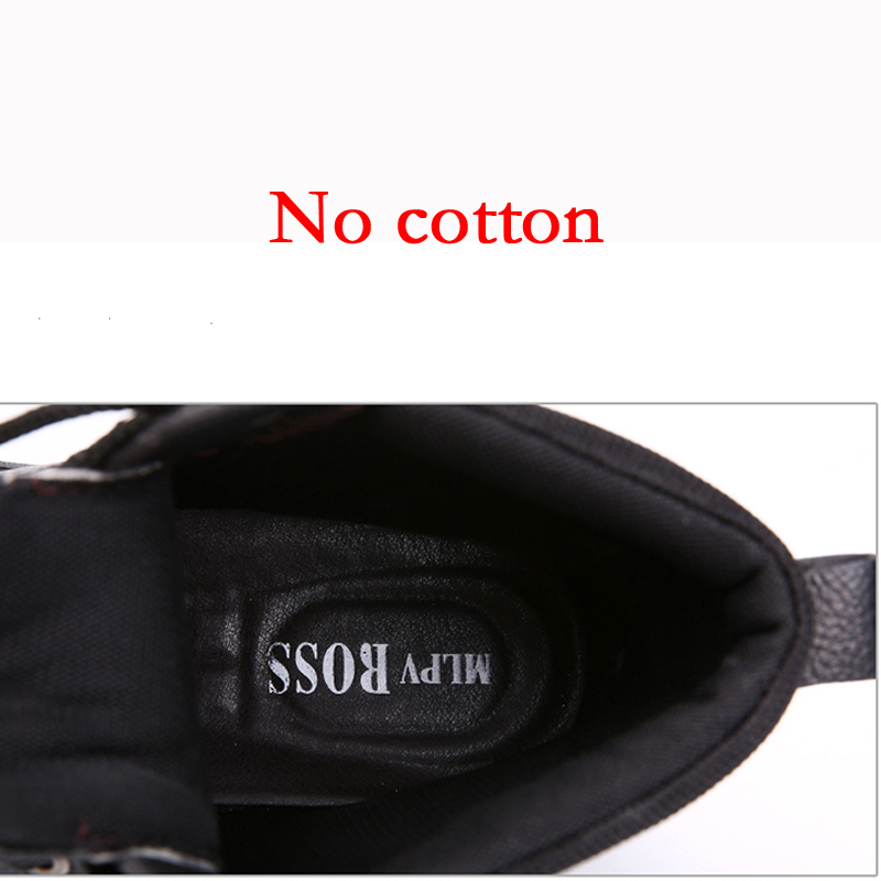 Bottes Dentelle Mode Plus Moto up Brun Chaussures No Cotton Cotton brown black Cotton Automne Hiver Chaud Noir Black Hommes Haute Djsunnymix Casual cut xwX7q8IF