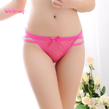 New Style Women Lady Female Lace Briefs Panties Thongs G-string Lingerie Underwear Sexy Fashion Hot Underware Wolovey#20 1