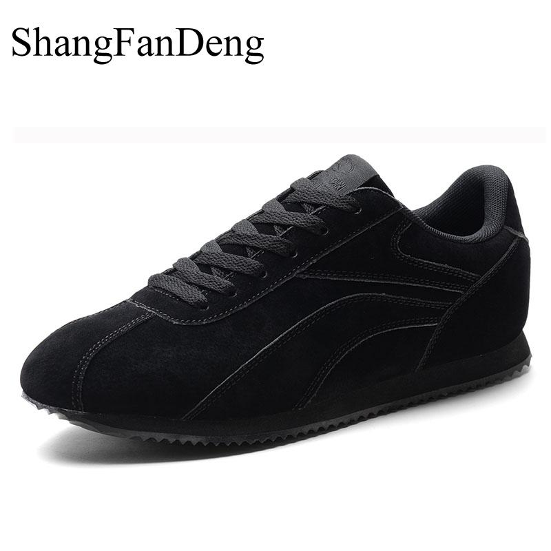 Appartements Shangfandeng Hombre Respirant Sport Qualité Chaussures Haute gray Mode Casual Modis glissement khaki En De Plein Sneakers Mâle Zapatos Black Air Non vqrTIr