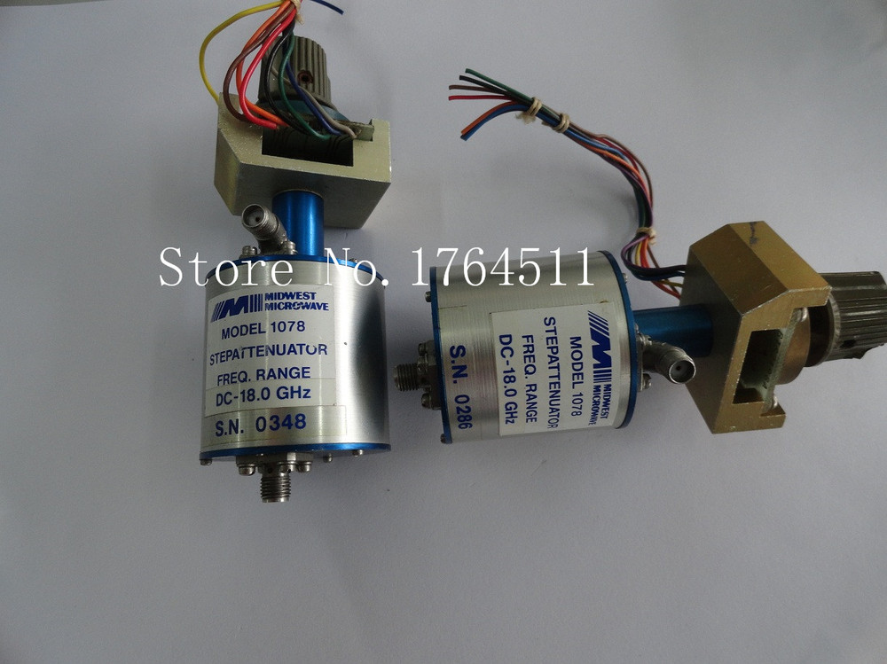 [BELLA] MIDWEST MICROWAVE 1078 DC-18GHz 0-60dB Adjustable Step Attenuator SMA