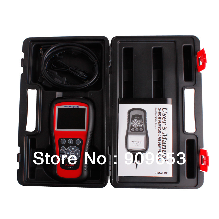 Newest autel maxidiag md702 elite original code reader and scanner md 702 scan tool with live