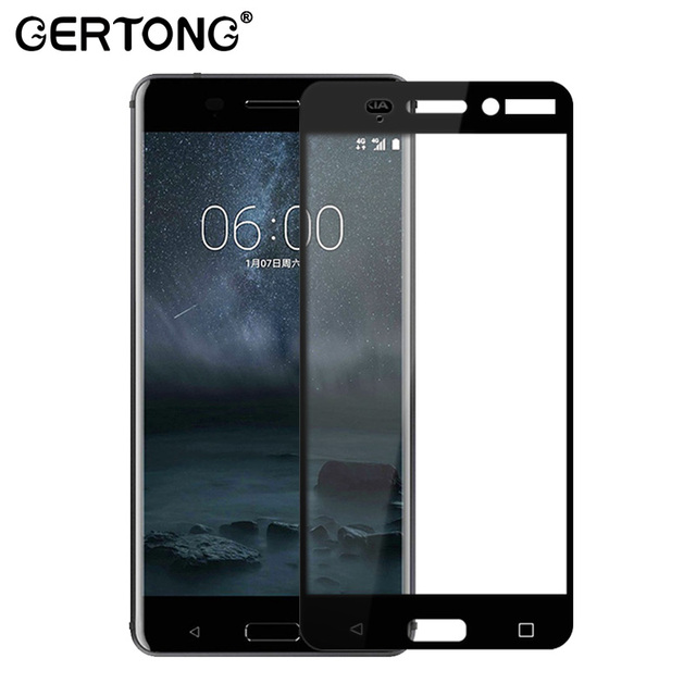 25d 9h Full Cover Tempered Glass For Nokia 6 5 3 8 7 2 Screen